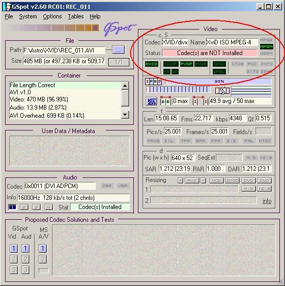 xvid mpeg 4 video codec download